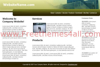 Architect Business Building Website Template
