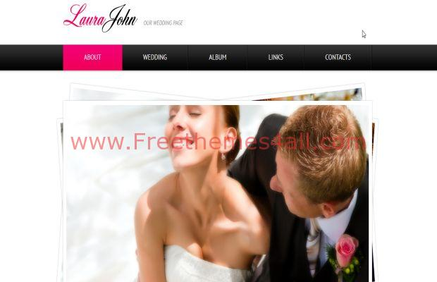Cute business css wedding company template freethemes4all business css wedding company template cheaphphosting Gallery