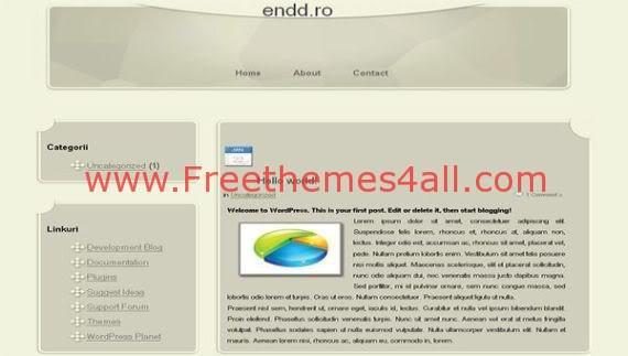 Free WordPress Cheese Clean Web2.0 Theme