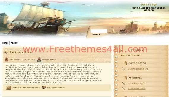 Free WordPress Age Of Empire Games Theme