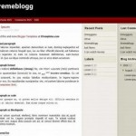 ExtremeBlogg Magazine Blue Blogger Template