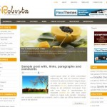 Business White Yellow Wordpress Theme