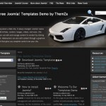 Black Cars Joomla Theme