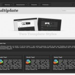 Business Black Portfolio Joomla Theme