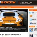 Black Orange Cars Wordpress Theme