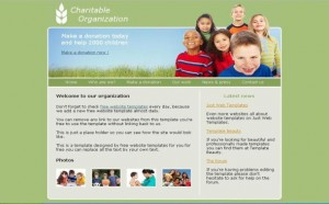 Green Charity Foundation CSS Template