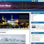 colorful-music-blogger-template