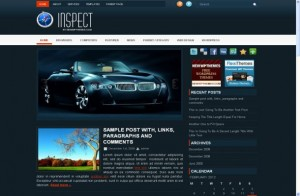 Cars Magazine Free Wordpress Theme
