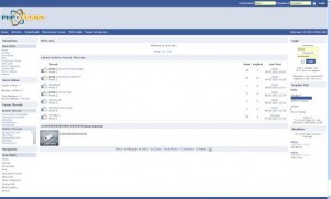 Facebook Php-fusion Theme