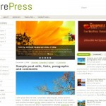 Fresh Wooden Small Business Wordpress Theme