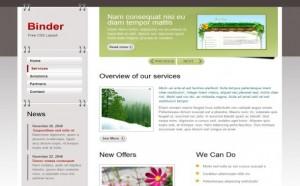 Chrome Green Free CSS Template