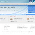 Blue Business CSS Template