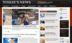 Red News Wordpress Theme