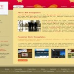 Brown Website Template