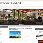 Story Magazine Jquery Free Wordpress Theme