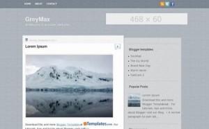 Grey Design Jquery Free Blogger Template