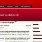 Red Joomla Template