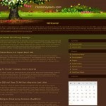 Free Magic Garden Wordpress Theme