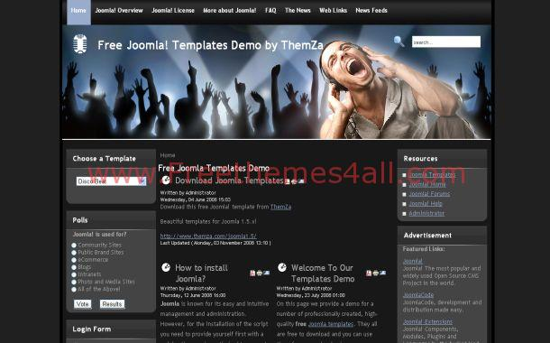 cms templates blogger templates gaming blog theme cms templates drupal templates dark drupal. Black Bedroom Furniture Sets. Home Design Ideas