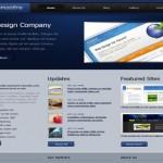 Business Blue CSS Website Template