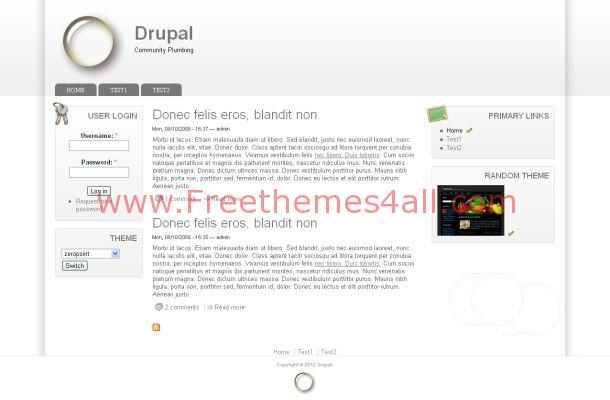 Drupal Free Business Template