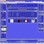 Digital Blue Violet Web2.0 Php-fusion Theme