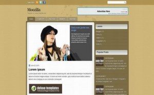 Brown Fashion Blogger Theme