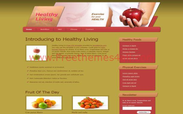 Health Free CSS Template