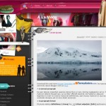 Sexy Pink Fashion Blogger Theme
