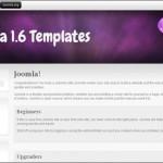 Purple Portfolio Joomla Theme Free
