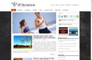 Fitness Sport Free Wordpress Theme