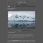 Grey Free Blogger Theme