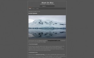 Grey Free Blogger Theme