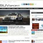 Sport Cars Jquery Free Wordpress Theme