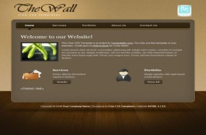 Business CSS Website Template Free