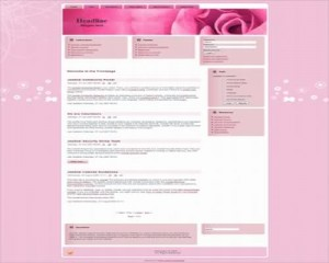 Pretty Rose Pink Joomla Theme