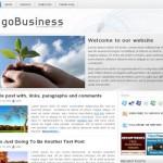 Free Modern Business Wordpress Theme
