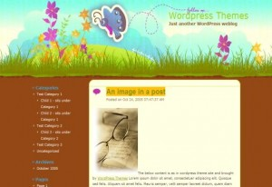 Wings Garden Wordpress Theme