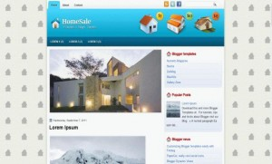 home-blogger-template