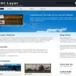 Business Blue HTML Website Template