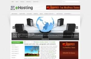Free WordPress WebHosting Theme
