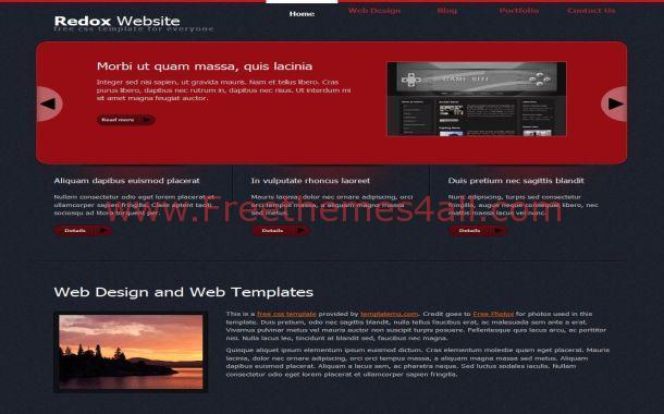 red-box-grunge-css-website-template.jpg