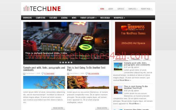 Gadgets News Free Wordpress Theme
