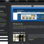 Free Abstract Grunge CSS HTML Website Template