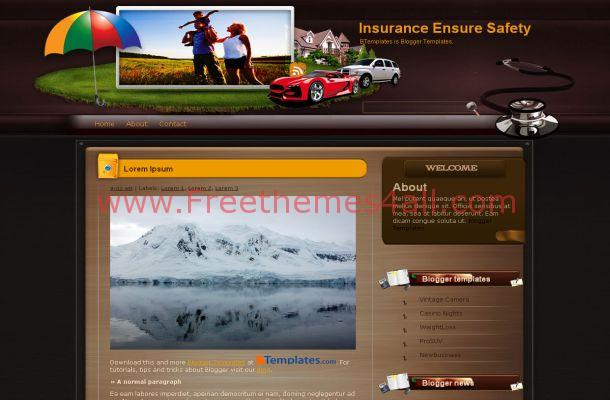 Business grunge brown insurance blogger theme template grune brown insurance blogger theme grunge brown insurance blogger theme template free wajeb Image collections