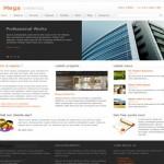 Business Joomla Orange Template Theme Download