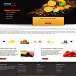 Free CSS Abstract Fruits HTML Template