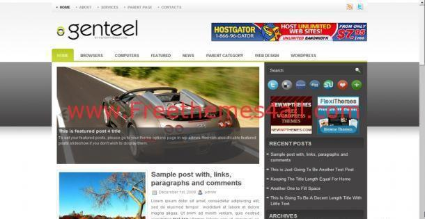 Online Games Blog Wordpress Theme