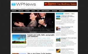 Daily News Free Wordpress Theme