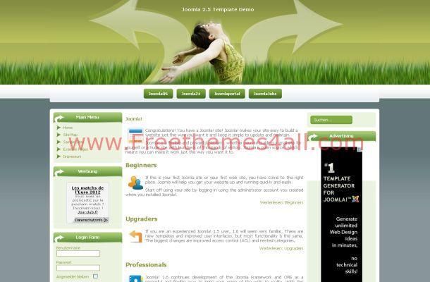 Green Health Joomla Theme